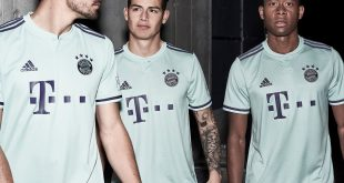 adidas reveals new Bayern Munich away jersey for 2018/19 season!