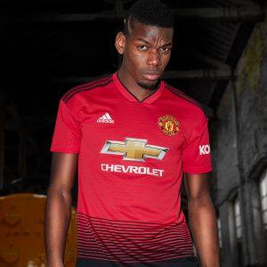 440fe5ca771 adidas   Manchester United launch new 2018 19 season home kit!