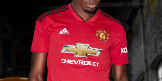 440fe5ca771 adidas   Manchester United launch new 2018 19 season home kit!