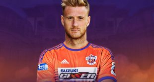 FC Pune City announce signing of defender Matthew Mills of England!