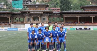 India U-15 Girls beat hosts Bhutan to qualify for SAFF U-15 Women's Championship semifinals!