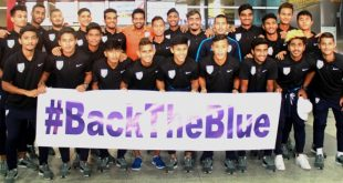 NNIS VIDEO: India U-20 team returns to New Delhi amidst fanfare!