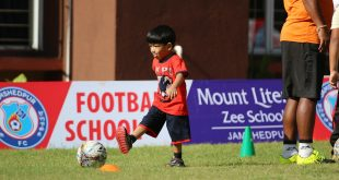 Jamshedpur FC launches its first Football School at Mt. Litera Zee School!