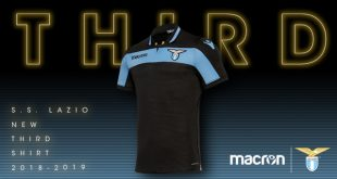 The homage to the centenary continues in the Third Kit for Lazio Roma by Macron!