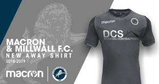 An elegant grey for the new Millwall FC away kit by Macron!