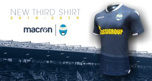 S.P.A.L third kit by Macron is a tribute to the club's fans!