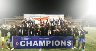 India U-15 Girls win the 2018 SAFF U-15 Women's Championship!