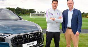 Tottenham Hotspur announces Audi as the club's Official Car Partner!