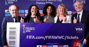 Ticketing for 2019 FIFA Women's World Cup in France launched!