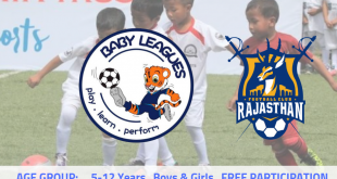 AU Rajasthan FC announces Baby League to promote young footballers in Rajasthan!