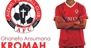 Aizawl FC announce signing of Liberian striker Ansumana Kromah!