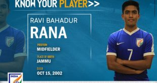 India U-16s Ravi Bahadur Rana: Want to score goals in every match!