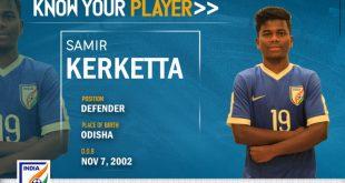 India U-16s Samir Kerketta looks to make Odisha proud at AFC U-16 Championship!