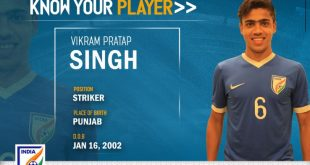 India U-16s Vikram Pratap Singh: Confidence & guts the secret to success!