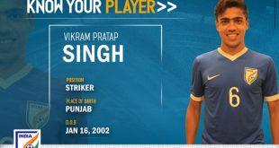 India U-16s Vikram Pratap Singh: Confidence & guts the secret to success!