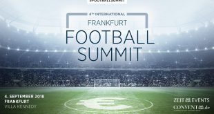 Indian Football to be topic at International Frankfurt Football Summit on September 4!