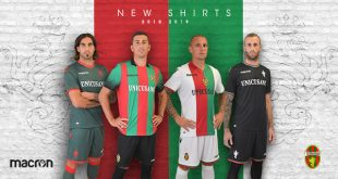 Ternana Calcio & Macron have presented the new shirts for the 2018/19 season!