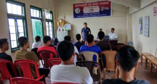 AIFF-Mizoram FA Baby League Seminar held in Aizawl!