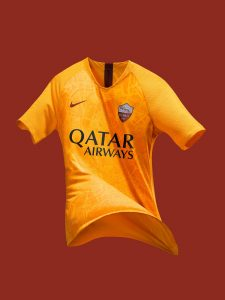 """f7599b903 The rich and unique history of the """"Eternal City"""" of Rome is at the heart  of Serie A side AS Roma s new 2018-19 third kit by Nike."""
