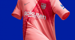 FC Barcelona's 2018-19 Third Kit Continues a Bold & Beautiful Celebration of the City!