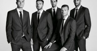 AS Roma present their new HUGO BOSS clothing line!