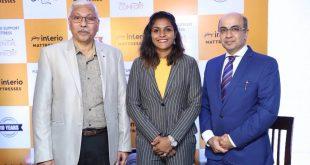 India Women's international Aditi Chauhan launches Godrej Interio's new mattress brand!