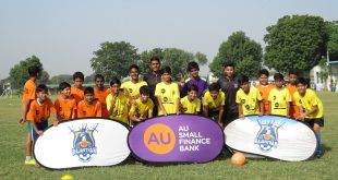 Baby League launched by AU Rajasthan FC in Jaipur!
