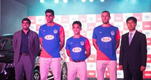 Kia Motors are Bengaluru FC's new principal sponsors!