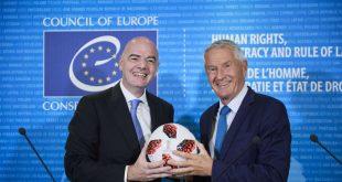 Council of Europe and FIFA sign Memorandum of Understanding!