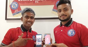 Gourav Mukhi & Mobashir launch official Jamshedpur FC app for fans!