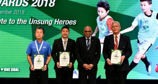 Unsung heroes recognised at inaugural AFC Special Grassroots Awards 2018!