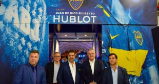 Hublot announces watch partnership with Boca Juniors!