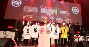 Eintracht Frankfurt unveil six international brand ambassadors!