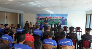 AIFF D License Coaching Course kicked-off in Aizawl today!