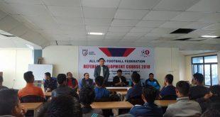 Mizoram conducts Referee Development Course in Aizawl!