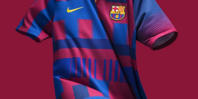 03dd0a80bbc FC Barcelona and Nike Mark 20th Anniversary in Style!