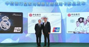 Real Madrid announce partnership with China's CITIC Bank!