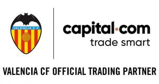Valencia CF name capital.com as their official trading partner!