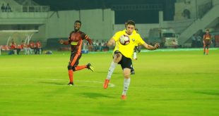 Surchandra's strike helps Real Kashmir FC steal a point at Gokulam Kerala FC!
