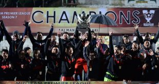 Aizawl FC lift third MPL trophy beating Chhinga Veng FC!