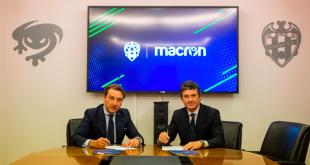 Macron & Levante UD extend contract until 2022!