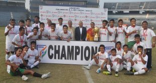 Mizoram Juniors beat Punjab to lift 2018/19 Dr B.C. Roy Trophy!