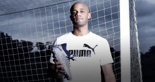 Vincent Kompany drops leather shoes in favour of PUMA Future!