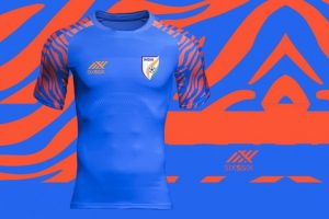 the best attitude e964d 3041e Buy the new Indian national team jersey by Six5Six!