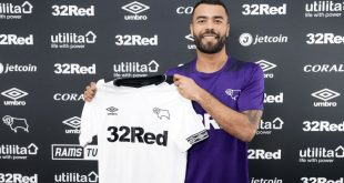 Former England international Ashley Cole signs for Derby County!