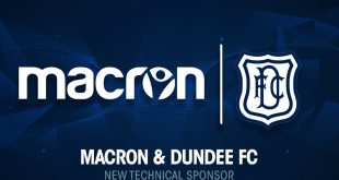 Macron & Dundee FC announce five year partnership!