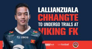 Delhi Dynamos agree to Lallianzuala Chhangte's trial at Viking FK!