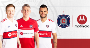 Chicago Fire names Motorola as Official Jersey Partner!