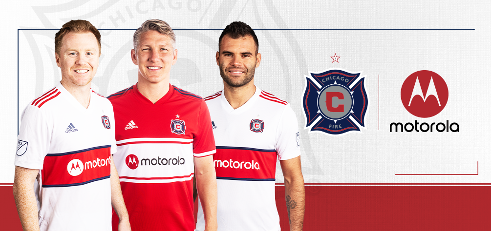 5626c49f5 Chicago Fire names Motorola as Official Jersey Partner!
