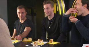 VIDEO: Borussia Dortmund stars undergo a veggie taste test!